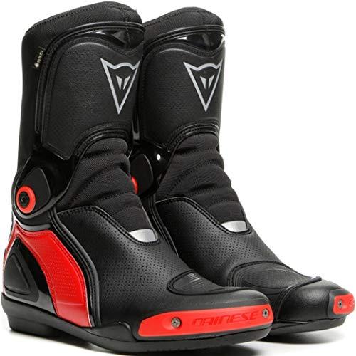 Dainese Sport Master Gore-Tex Stivali moto impermeabili Nero/Rosso 45
