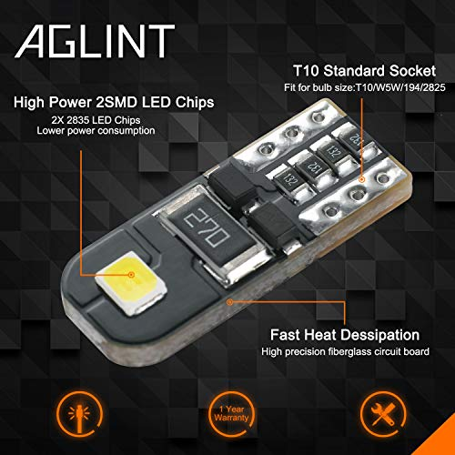 AGLINT T10-2835-2W CANBUS