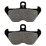 SOWBAY Motorrad Front Pads Discs/Fit for BMW R850C R850GS R850R R850RT R100 Mystic R100R R1100GS R1100R R1100RS R1100S R1100RT R1150GS (Color : Black)