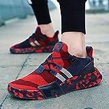 Zapatos Deportivos Del Todo Fósforo del Camuflaje de la Moda de la Tendencia Ligera Transpirable de Los Hombres Zapatos para Correr Zapatos Casuales
