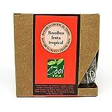COOLTEA - Rooibos fruta tropical. 15 bolsas piramidales de lujo.
