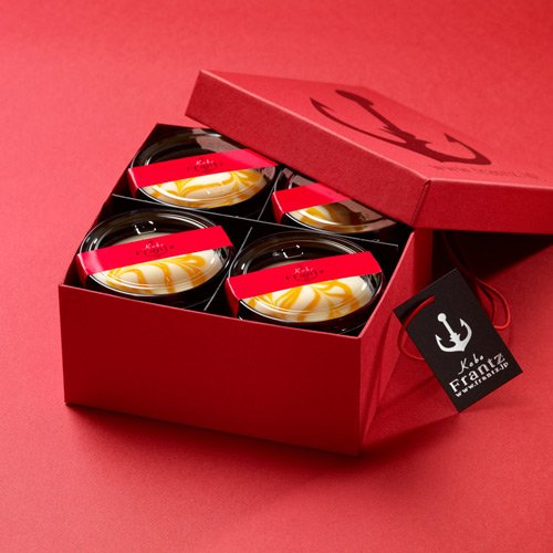 神戸フランツ神戸マンゴーレアチーズケーキ4個入