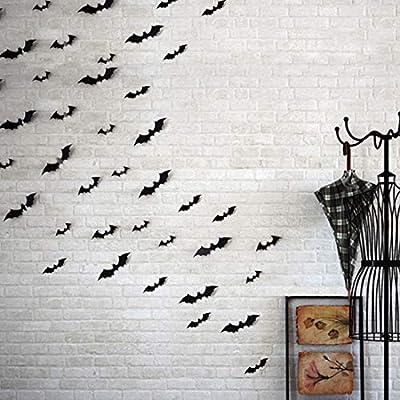 Eoorau 36PCS Gold Butterfly Wall Decals - 3D Butterflies Wall Stickers Removable Mural Decor Wall Stickers Decals Wall Decor Home Decor Kids Room Bedroom Decor Living Room Decor