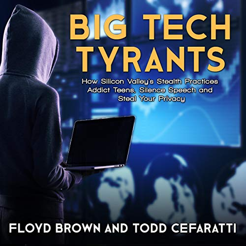Page de couverture de Big Tech Tyrants
