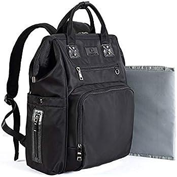 CosmoLarge Capacity Multifunction Baby Diaper Backpack