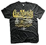Gas Monkey Garage Oficialmente Licenciado GMG - Green Hot Rod Big & Tall 3XL,4XL,5XL Camiseta para...