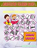 Agriculture Coloring Books: 35 Fun Hosepipe, Penguin, Rake, Spray, Seeding, Waterwell, Solarpanel, Scarecrow For 3 Year Old Girl Image Quiz Words Activity and Coloring Books