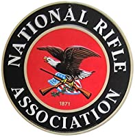 アメリカ雑貨 ブリキ看板 NATIONAL RIFLE ASSOCIATION 全米ライフル協会 オフィシャル ロゴ ヴィンテージ風 アメリカン雑貨 サインプレート インテリア ガレージ ポスター ブリキ 看板 おしゃれ