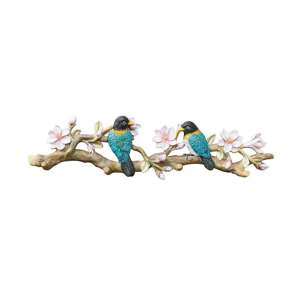 欺く後継秘密のHXGL-ハンガー カササギフックドアキーフック壁掛けクリエイティブコートフック壁ハンガーポーチ壁装飾鳥フック (Color : B)