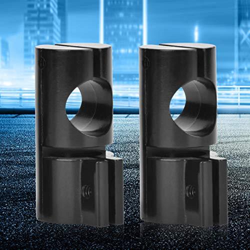 라운드 튜브 어댑터 2PCS T- 조인트 라운드 튜브 원형 튜브 커넥터 금속 산업 장비에 완벽하게 일치