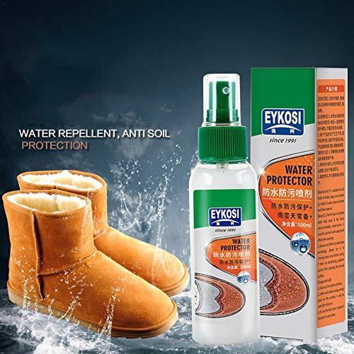 Impregneerspray voor textiel en leer, 100 ml, zonder drijfgassen, effectieve nano-verzegeling tegen vuil en vocht, impregneerspray, lederen bescherming, tent boot, impregneermiddel