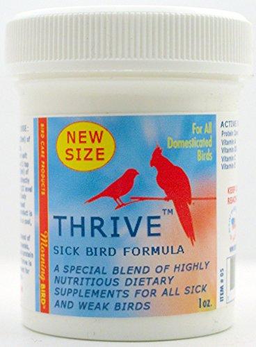Morning Bird Thrive, Sick Bird Formula (1 oz)