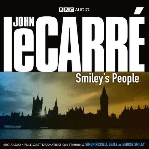 Smiley's People (Dramatised)                   By:                                                                                                                                 John le Carré                               Narrated by:                                                                                                                                 Simon Russell Beale,                                                                                        Anna Chancellor,                                                                                        Lindsay Duncan,                   and others                 Length: 2 hrs and 49 mins     1 rating     Overall 1.0