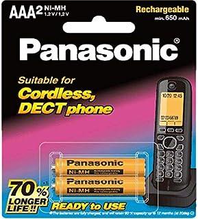 Panasonic Rechargeable Batteries AAA