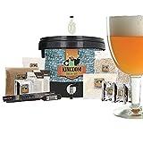 Brewferm Kingdom® - Kit brassage biere pour le brassage à domicile - Tripel - 5 Litre - Pack de brassage complet - Bière belge