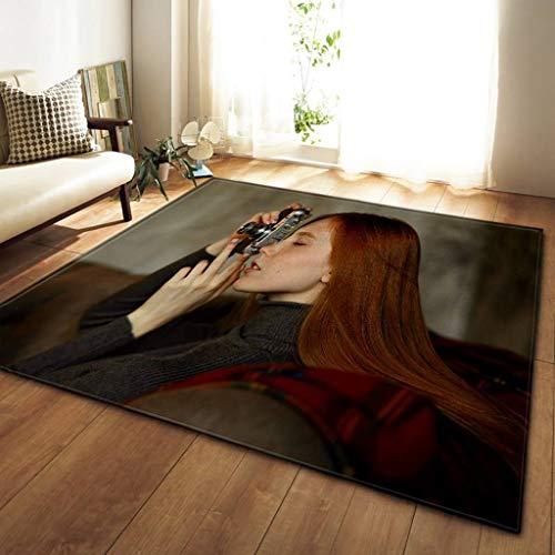 Moquettes, tapis et sous-tapis 3D beauté tapis 100x150cm Conception De Tapis De Sol Dans Le Salon Tapis Chambre Restaurant Cuisine Doux Tapis Tapis De Sol Décoration Carpets & Rugs (Couleur : G)