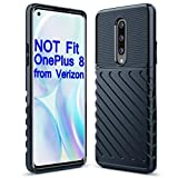 Sucnakp Oneplus 8 Case 1+8 Case One Plus 8 Case Shock Absorption Anti Scratch Heavy Duty Durable Drop Protection Cell Phone Cover for Oneplus 8,NOT Fit OnePlus 8 from Verizon(LT Blue)
