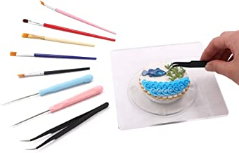 kowanii Sugar Cookie Decorating Supplies Tools Set, Cookie Turntable Swivel Stand Lazy Susan Kit, with Baking Supplies Nee...