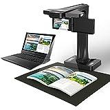 ZHBD Escáner De Documentos con Cámara De Libros HD, Cámara De Documento Inteligente con Función De Proyección, Grabación De Video De Exportación PDF, para Ventanas En El Aula