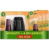 Air Wick Essential Mist - Aparato y recambios de ambientador difusor aceites esenciales para casa con aroma a Explosión Cítrica - pack de 1 aparato y 4 recambios