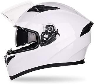 MYSdd Neuer schwarzer Helm f/ür M/änner und Frauen im Freien Sport Motorrad Rennhelm Unisex Warmer Helm Regenbogen XM