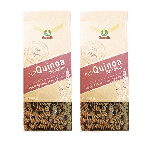Donath Bio PUR Quinoa Spiralen, ungesüßt, 2 Pack à 200 g