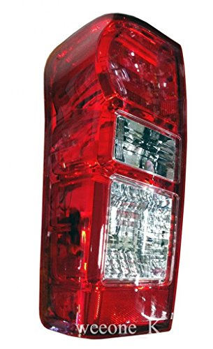K1AutoParts 1 Left Side Rear Taillights Tail Light Lamps (For L.E.D Brake Light) For Isuzu D-max Dmax 2012 2013 2014