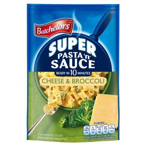 Batchelors Super Pasta 'n' Sauce Cheese & Broccoli 123g (Packung 6)