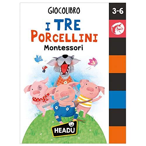 I tre porcellini Montessori. Giocolibro. Ediz. a colori