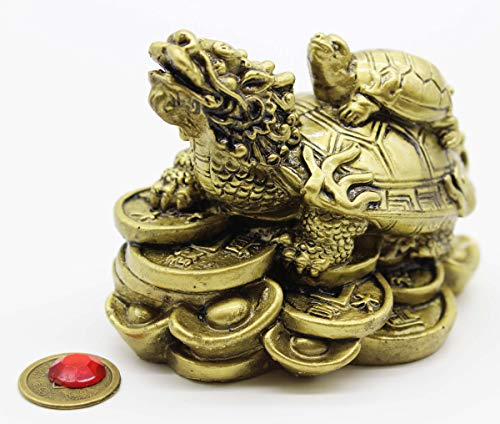 Mose Cafolo Feng Shui Dragon Turtle Wealth Protection...