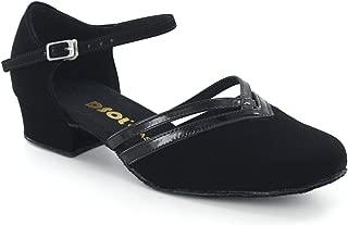 DSOL Women's Pumps Dance Shoes DC888101 Heel 1.0
