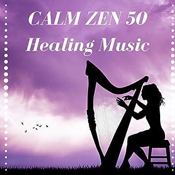 Calm Zen 50: Music for Ocean Sleep, Liquid Waves, Healing Music, Water Sounds, Rain Noise for Total Relax