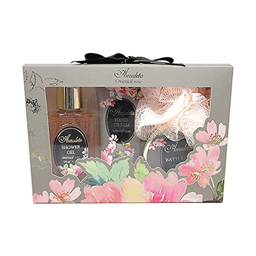 安全でないシロクマ家アムレート ボディケアセット ソフィア オリエンタルローズの香り
