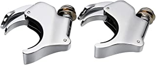 TCMT Detachable 49mm Windshield Clamps Fits For Harley Dyna Street Fat Bob Wide Glide 06+