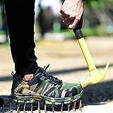Meiyan Zapatos de seguridad a prueba de balas de los hombres Indestructible Trabajo Militar Zapatillas ligeras