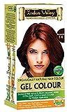 Indus Valley Bourgogne gel teinture capillaire Coloring Kit 3,6