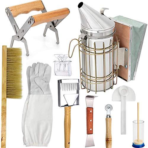Pop Bijenteelt Honing Tool Kit Bijenteelt Starter Kit Set Van 10 Bijenteelt Equipment Supplies