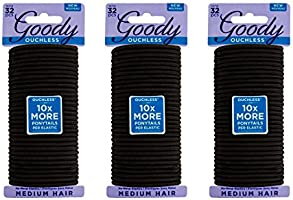 Goody Ouchless Women's Braided Elastics