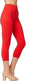 Conceited Premium Ultra Soft Yoga Waistband Leggings - Regular and Plus Size - Full and Capri Length