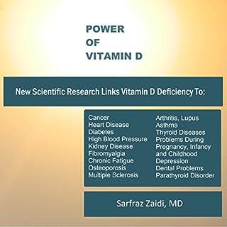 Power of Vitamin D audiobook cover art