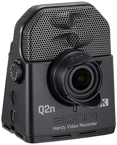 ZOOM ズーム ハイレゾ音質 ハンディビデオレコーダー フルHD 4倍鮮明な映像を記録 4K画質メーカー3年延長保証付 Q2n-4K