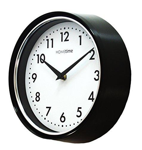 Étui compact Deep Bold Design Horloge murale à Quartz, cadran blanc