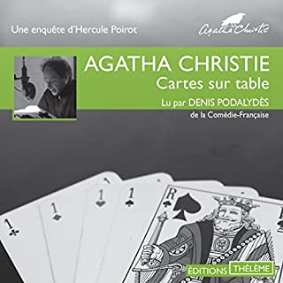 Couverture de Cartes sur table