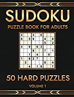 Logicpuzz 50 Sudoku Puzzles Hard: Large Print Sudoku Puzzle Book for Adults - Improve Your Memory