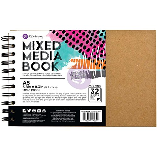 Prima Marketing Mixed Media Book Art