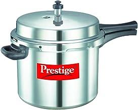 طنجرة ضغط بوبيولار من بريستيج بسعة 10.0 لتر من الالومنيوم