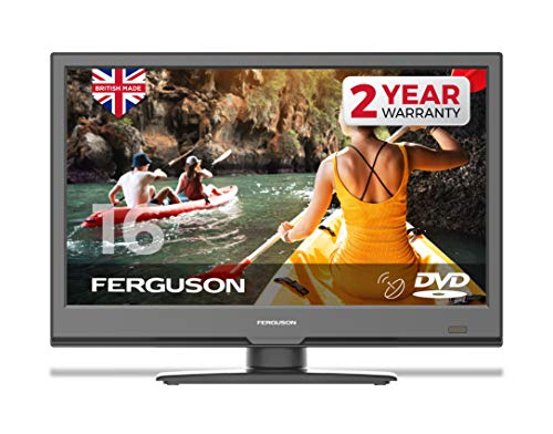 "Ferguson F2420FS 24"" HD Ready LED Digital TV with Built-in DVD Player & Satellite Tuner"