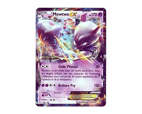 Carte Pokémon 61/162 MEWTWO EX HOLO REVERSE 170 PV - Série XY IMPULSON TURBO XY8 - NEUVE FR RARE