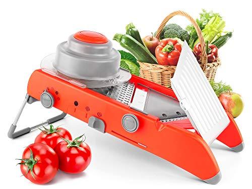 Sadubty Mandoline - Cortador de verduras y frutas (acero...