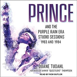 Prince and the Purple Rain Era Studio Sessions audiobook cover art